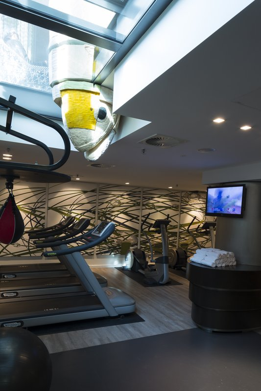 Hotel Indigo Berlin Centre Alexanderplatz-Fitness Center<br/>Image from Leonardo