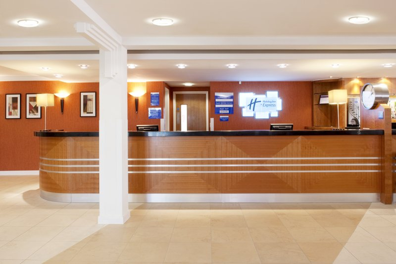 Holiday Inn Express Ramsgate - Minster-Front Desk<br/>Image from Leonardo