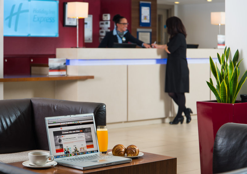 Holiday Inn Express Northampton M1, Jct.15-Our helpful team are on hand 24/7 for your convenience<br/>Image from Leonardo