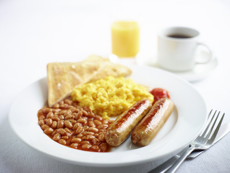 Holiday Inn Express Portsmouth - Gunwharf Quays-Hot Favourites of Sausages, Beans and Scrambled Egg<br/>Image from Leonardo