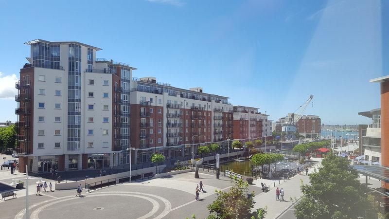 Holiday Inn Express Portsmouth - Gunwharf Quays-View of Quays<br/>Image from Leonardo