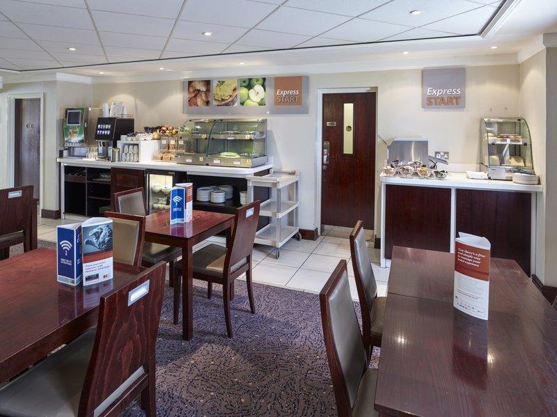 Holiday Inn Express Glenrothes-Breakfast Bar<br/>Image from Leonardo