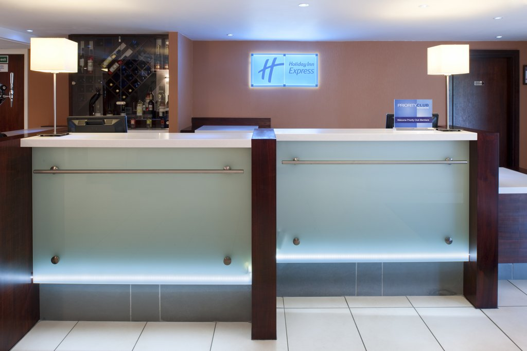 Holiday Inn Express Glenrothes-Front Desk<br/>Image from Leonardo