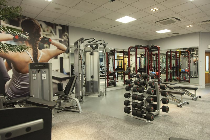 Crowne Plaza Marlow-Fully integrated app based gym, with state of the art synrgy frame<br/>Image from Leonardo
