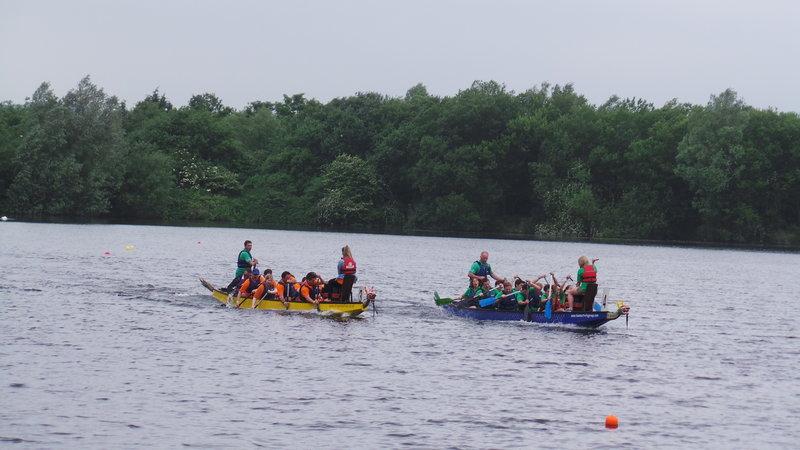 Crowne Plaza Marlow-Dragon Boat Racing on the Lake<br/>Image from Leonardo