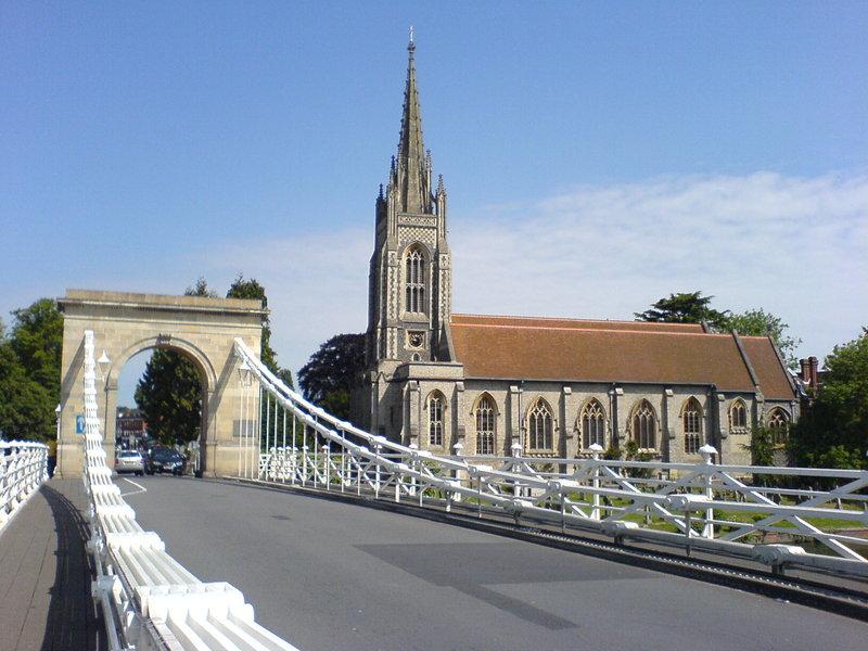 Crowne Plaza Marlow-All Saints Church - Marlow<br/>Image from Leonardo
