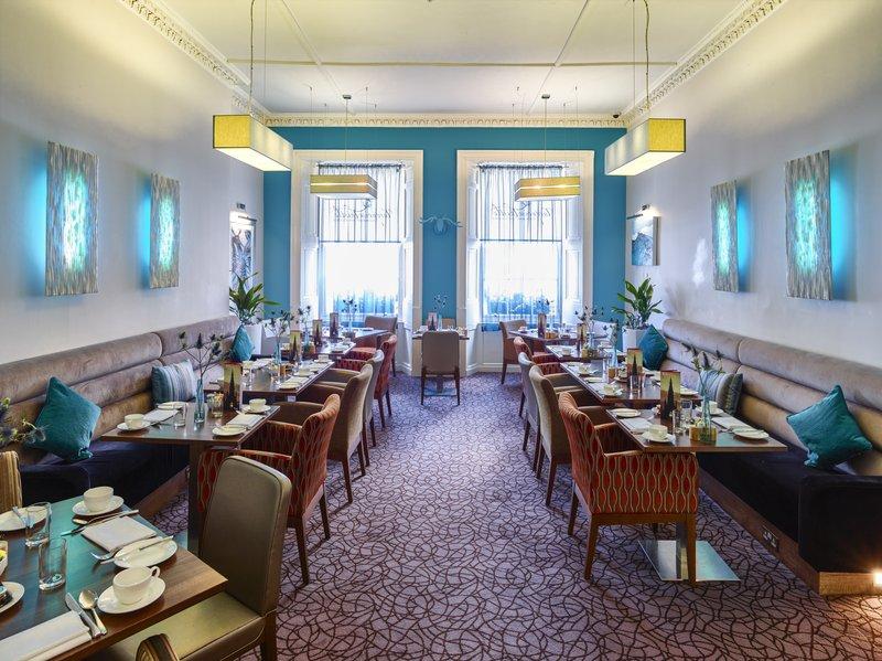 Indigo Edinburgh-Breakfast Area<br/>Image from Leonardo