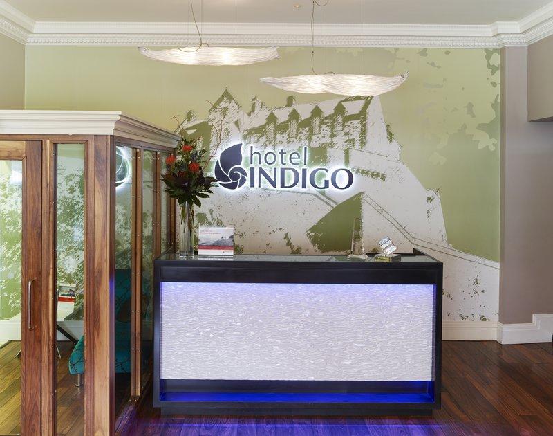 Indigo Edinburgh-Reception desk<br/>Image from Leonardo