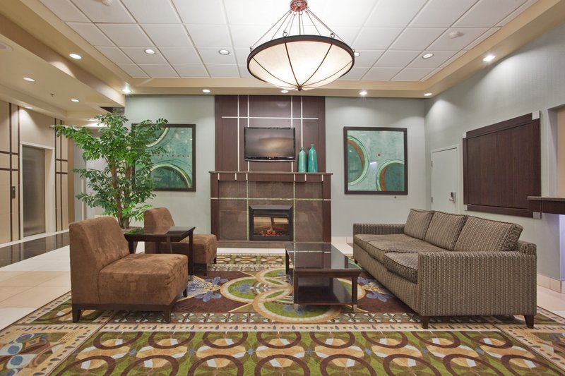 Holiday Inn Binghamton Downtown-We have a Welcoming Fireplace at  Our Holiday Inn Binghamton Lobby<br/>Image from Leonardo
