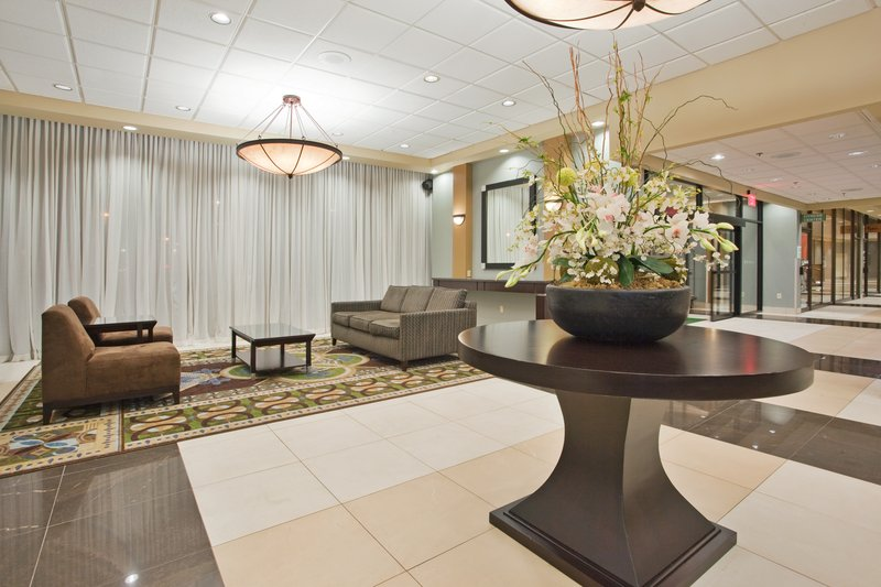 Holiday Inn Binghamton Downtown-Perfect Place to Read the Morning Newspaper-Holiday Inn Lobby<br/>Image from Leonardo