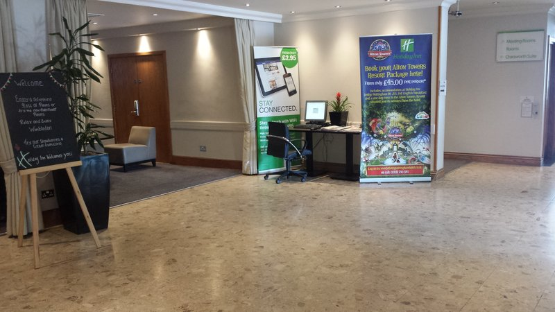 Holiday Inn Derby - Nottingham M1, Jct.25-Our spacious contemporary lobby area<br/>Image from Leonardo
