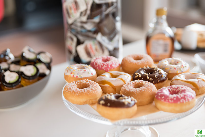 Holiday Inn Cannes-Tasty donuts for breakfast<br/>Image from Leonardo