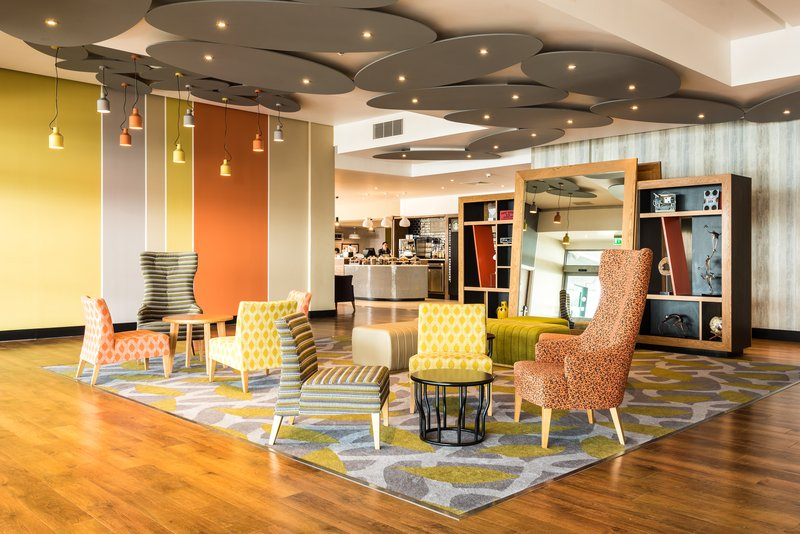 Holiday Inn Brighton - Seafront-Wait in our Artsy lobby reminding you of the sea.<br/>Image from Leonardo