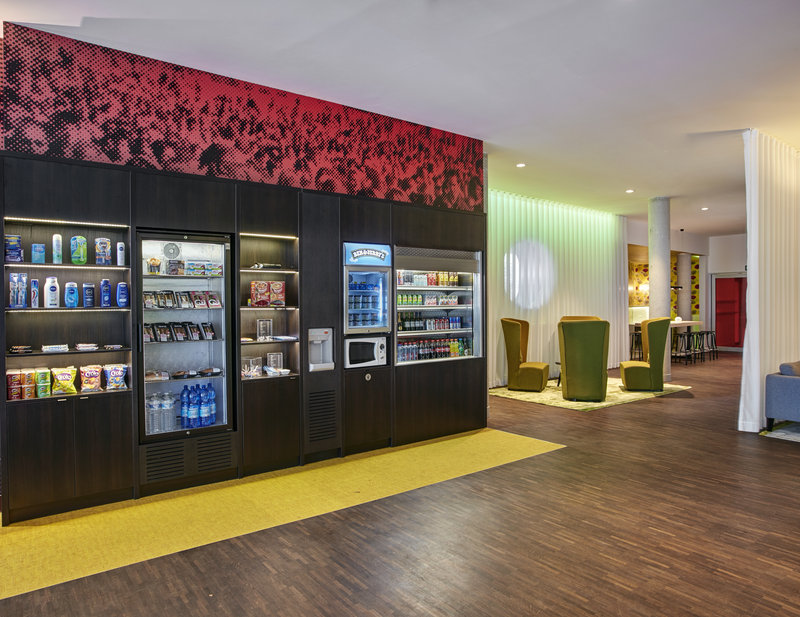 Holiday Inn Express Mechelen City Centre-Vending Machine in our Lobby<br/>Image from Leonardo