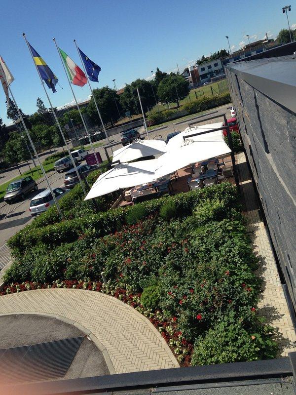 Crowne Plaza Verona Fiera-View from Hotel<br/>Image from Leonardo
