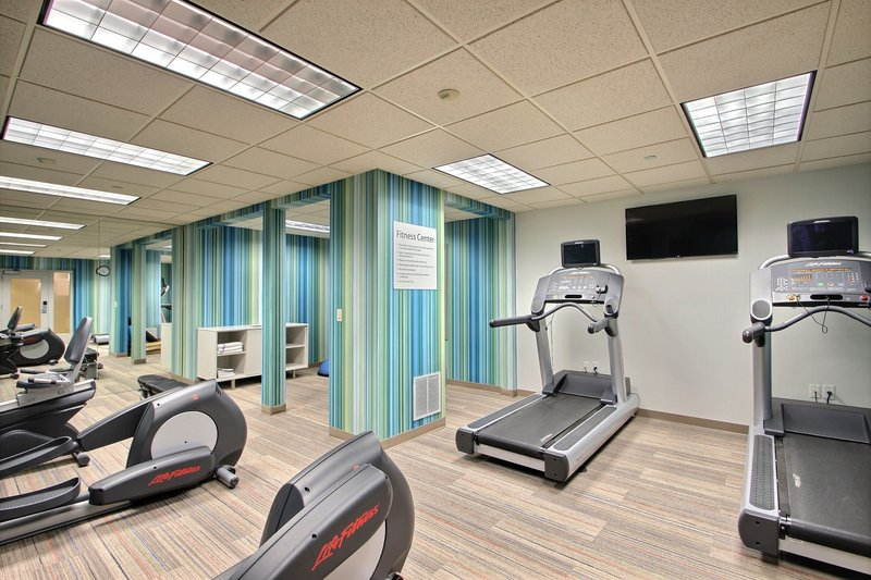 Holiday Inn Express & Suites Milwaukee Airport-Cardio & weights at Milwaukee airport hotel<br/>Image from Leonardo