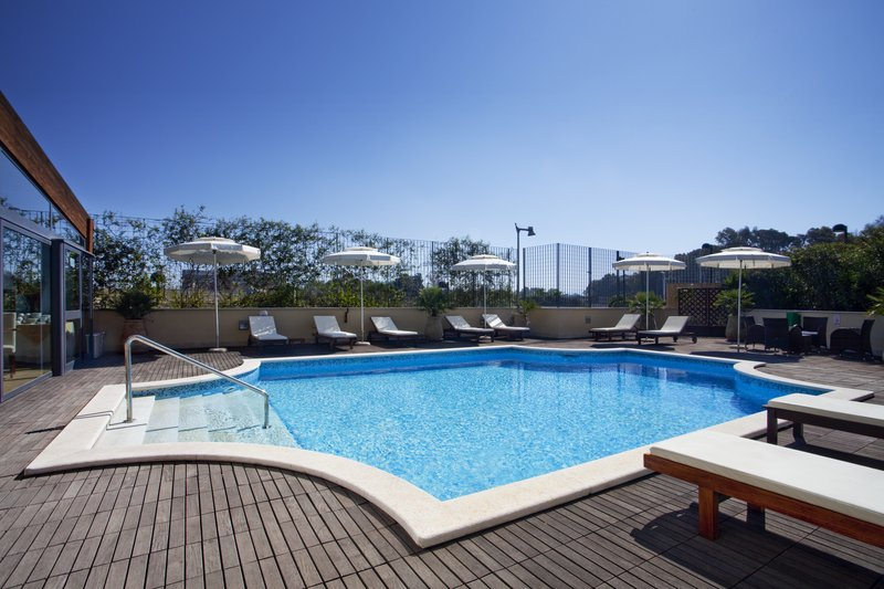 Holiday Inn Cagliari-Swimming Pool -open seasonally from June to September<br/>Image from Leonardo