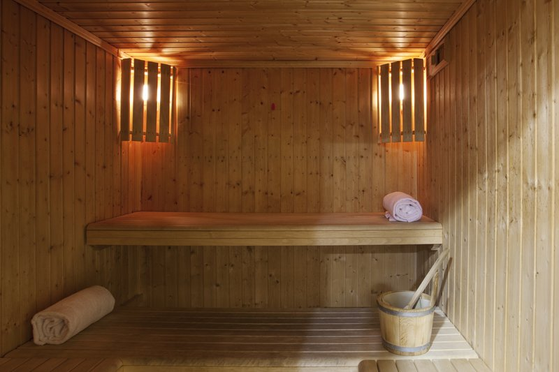 Holiday Inn Cagliari-Sauna free use for hotel's Guests<br/>Image from Leonardo