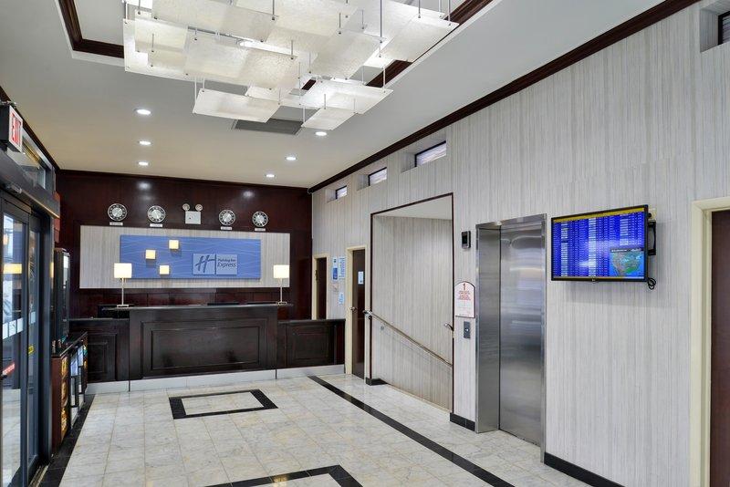 Holiday Inn Express New York JFK Airport Area-Hotel Lobby<br/>Image from Leonardo