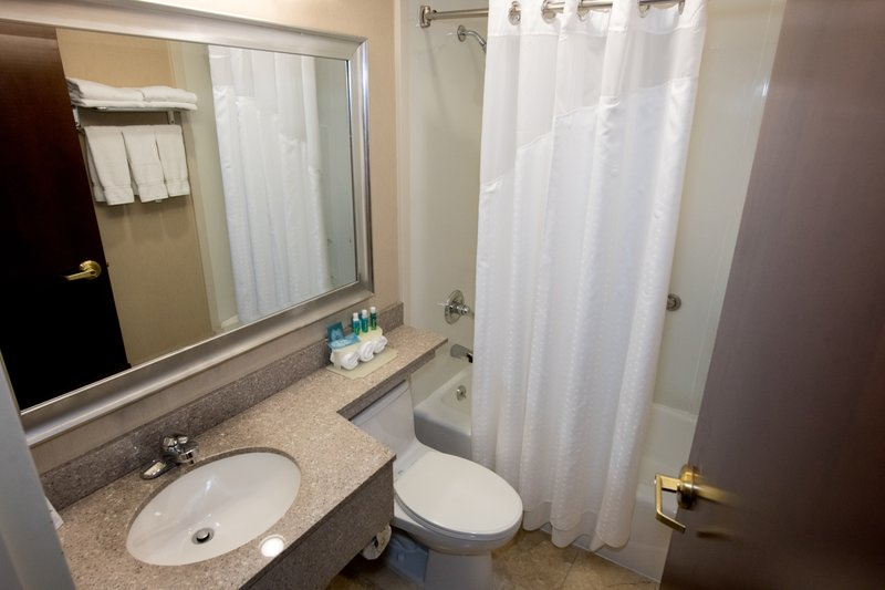 Holiday Inn Express New York JFK Airport Area-Bathroom Amenities<br/>Image from Leonardo