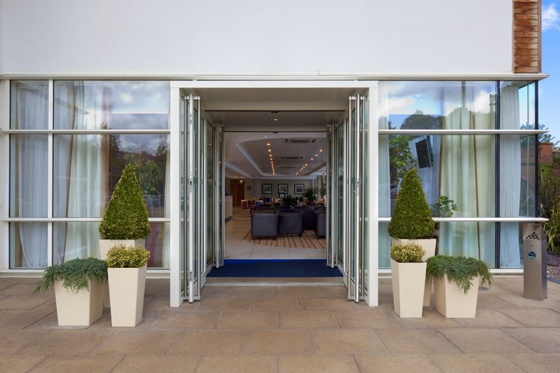 Holiday Inn Express Chester Racecourse-Entrance<br/>Image from Leonardo