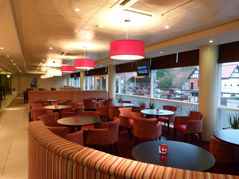 Holiday Inn Express Chester Racecourse-Reception and  Lounge Area<br/>Image from Leonardo