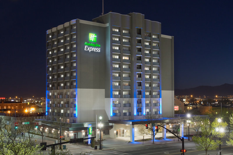 Holiday Inn Express Salt Lake City Downtown-Hotel Exterior<br/>Image from Leonardo