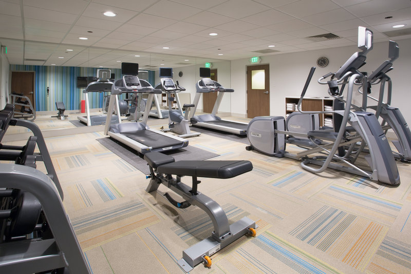 Holiday Inn Express Salt Lake City Downtown-Fitness Center<br/>Image from Leonardo