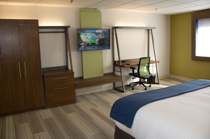 Holiday Inn Express Salt Lake City Downtown-Guest Room  <br/>Image from Leonardo