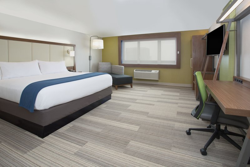 Holiday Inn Express Salt Lake City Downtown-Holiday Inn Express Salt Lake City Downtown King Suite<br/>Image from Leonardo