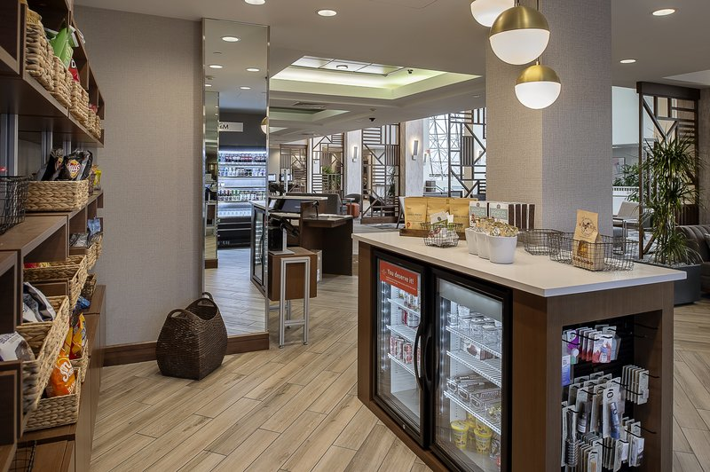 Crowne Plaza St. Louis Airport-Marketplace is located next to the Front Desk<br/>Image from Leonardo