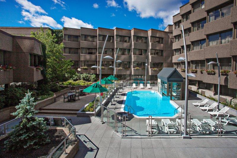 Delta Hotels by Marriott Quebec-Outdoor Pool<br/>Image from Leonardo