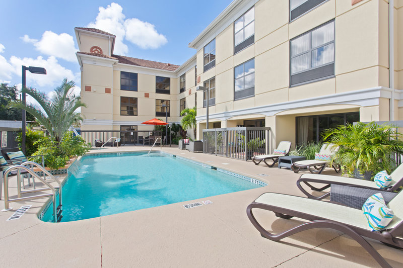 Holiday Inn Express Hotel & Suites Clearwater North/Dunedin-Enjoy catching some sunshine at our beautiful swimming pool<br/>Image from Leonardo