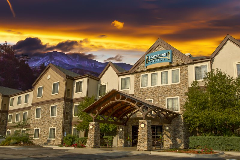 Staybridge Suites Colorado Springs North-Staybridge Suites Colorado Springs Hotel Exterior<br/>Image from Leonardo