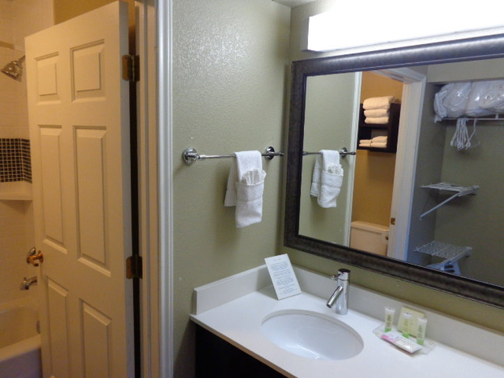 Staybridge Suites Colorado Springs North-Guest Bathroom<br/>Image from Leonardo