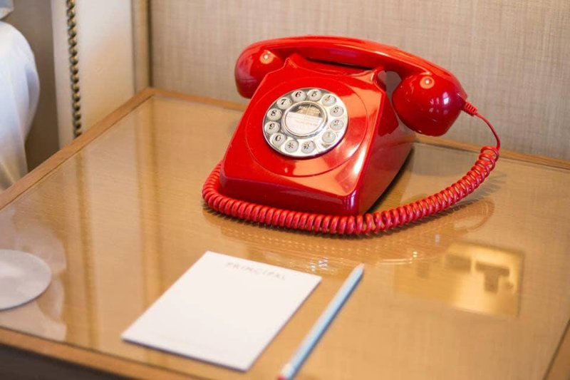 Principal York-Iconic Red Telephone in each bedroom<br/>Image from Leonardo