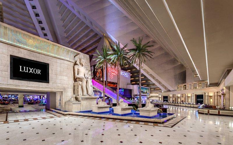 Luxor Resort and Casino-Luxor Lobby<br/>Image from Leonardo