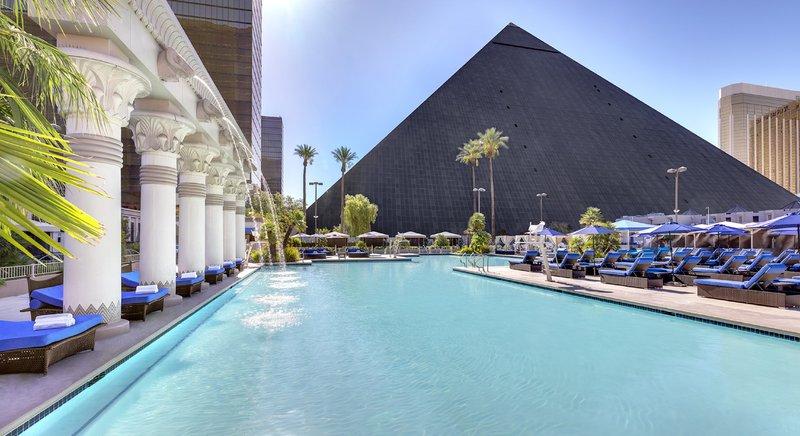 Luxor Resort and Casino-Luxor North Pool Daytime<br/>Image from Leonardo