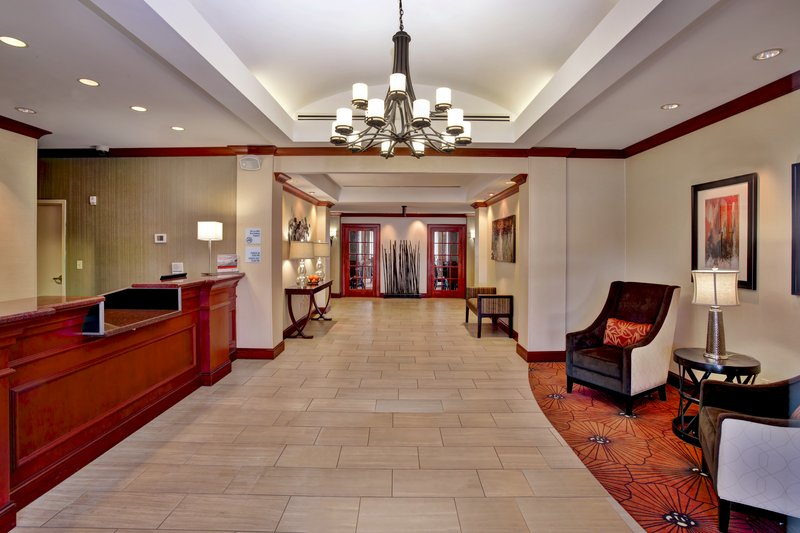 Holiday Inn Express & Suites Grand Rapids - North-Hotel Lobby<br/>Image from Leonardo