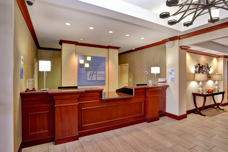Holiday Inn Express & Suites Grand Rapids - North-Front Desk<br/>Image from Leonardo