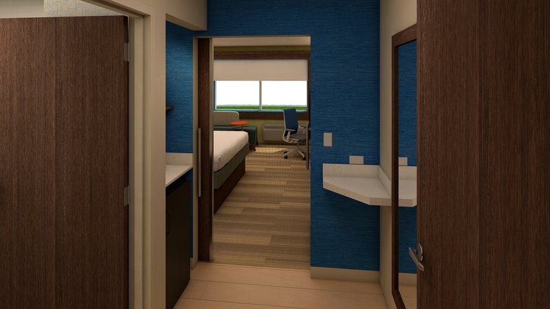 Holiday Inn Express And Suites Wilmington West -Medical Park-Guest Bathroom<br/>Image from Leonardo