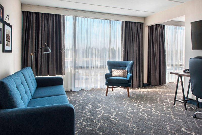 Four Points Philadelphia Northeast-Junior Suite Living Area<br/>Image from Leonardo