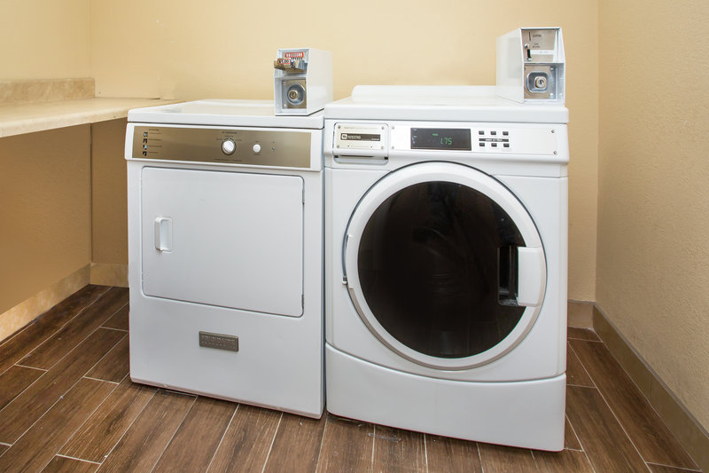 Holiday Inn Express Lexington-Sw (Nicholasville)-Coin-operated Guest Laundry on Second Floor<br/>Image from Leonardo