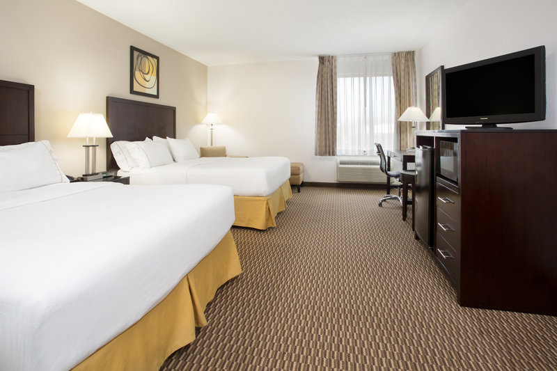 Holiday Inn Express Lexington-Sw (Nicholasville)-Spacious guest room with microwave/refrigerator/freezer<br/>Image from Leonardo