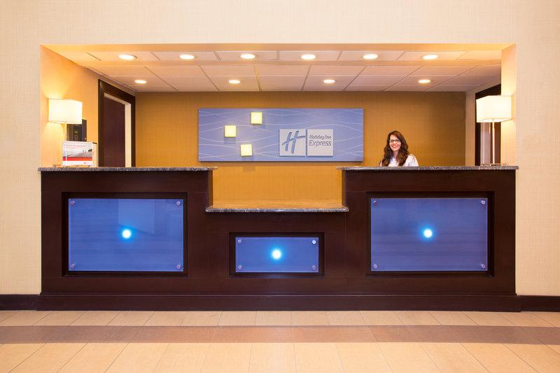 Holiday Inn Express Lexington-Sw (Nicholasville)-Front Desk<br/>Image from Leonardo
