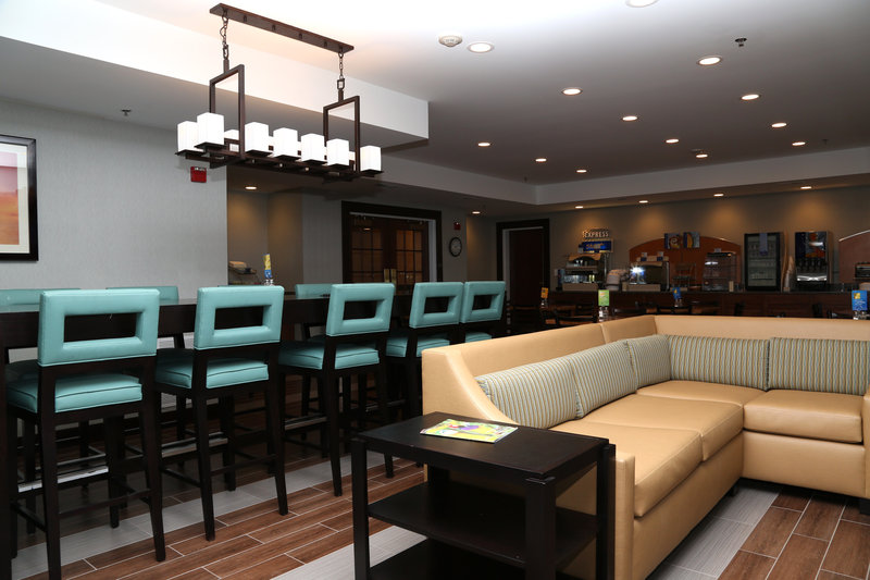 Holiday Inn Express Lexington-Sw (Nicholasville)-Breakfast Bar<br/>Image from Leonardo