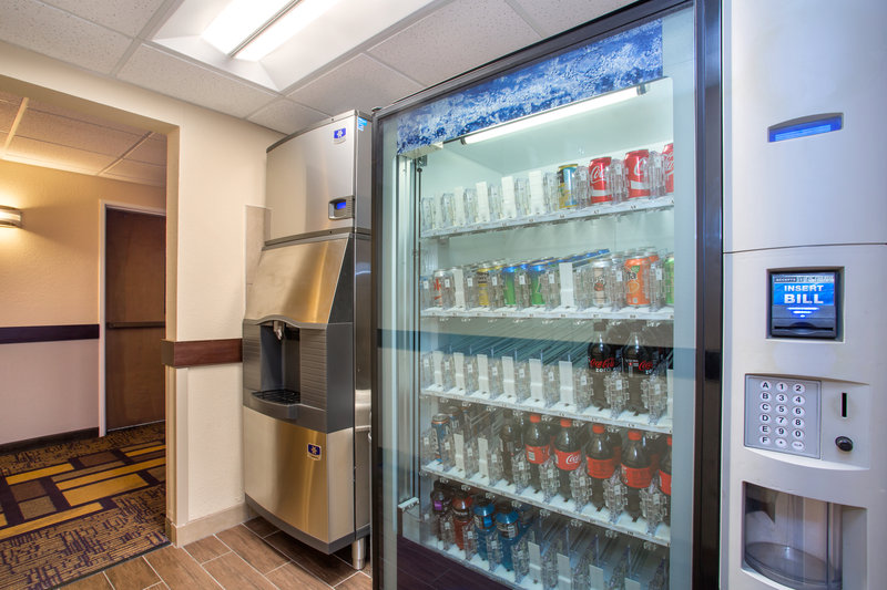 Holiday Inn Express Lexington-Sw (Nicholasville)-Hotel Vending Area<br/>Image from Leonardo