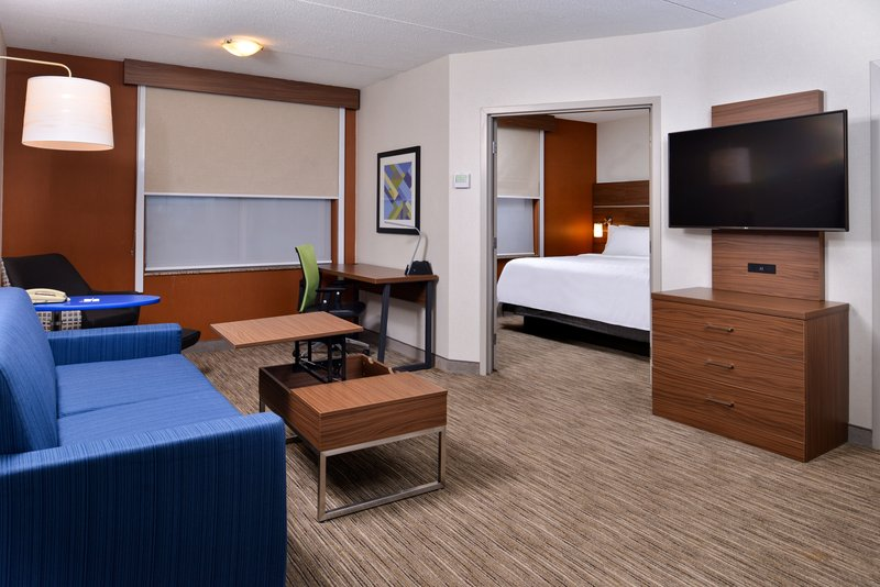 Holiday Inn Express & Suites Buffalo Downtown-Two room King suite with pullout sofa, 49