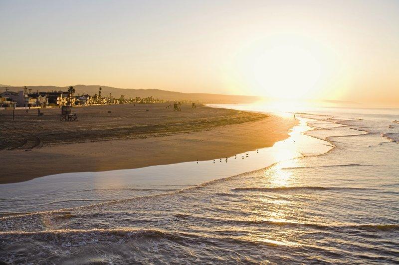 Holiday Inn Express Newport Beach-Beautiful Sunset near Newport Beach Hotel<br/>Image from Leonardo