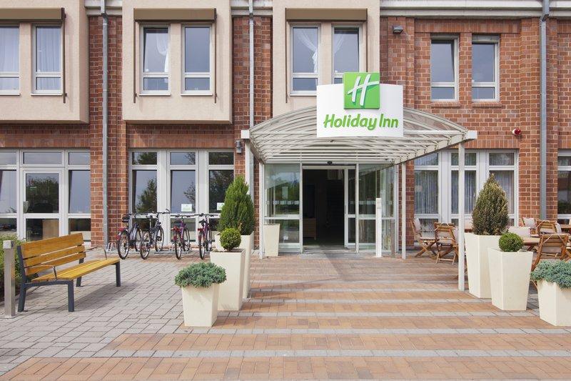Holiday Inn Leipzig - Gunthersdorf-Entrance<br/>Image from Leonardo